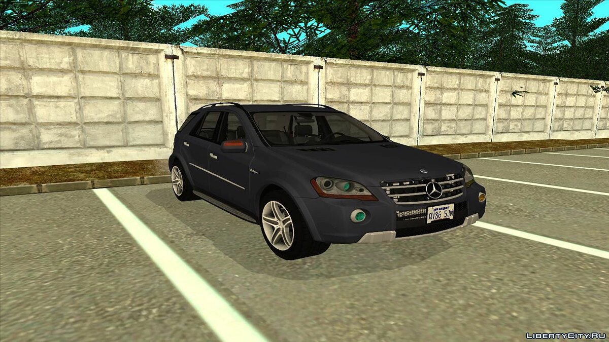 ��ашина Mercedes-Benz 2009 Mercedes-Benz ML 63 AMG для GTA San Andreas