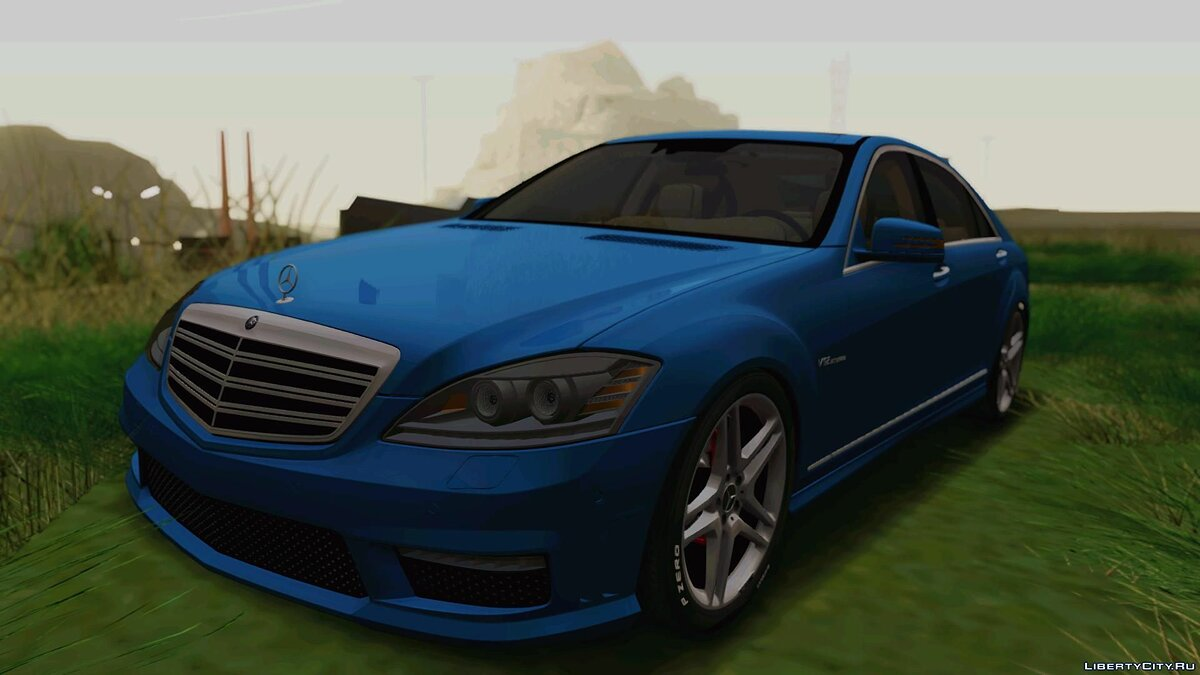 ��ашина Mercedes-Benz 2012 Mercedes-Benz S65 AMG Road version для GTA San Andreas