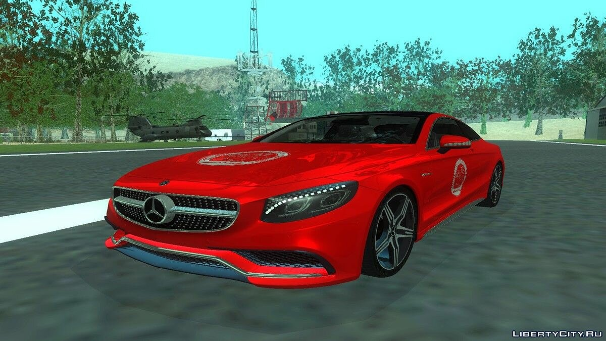 2015 Mercedes-Benz S63 AMG Coupe для GTA San Andreas
