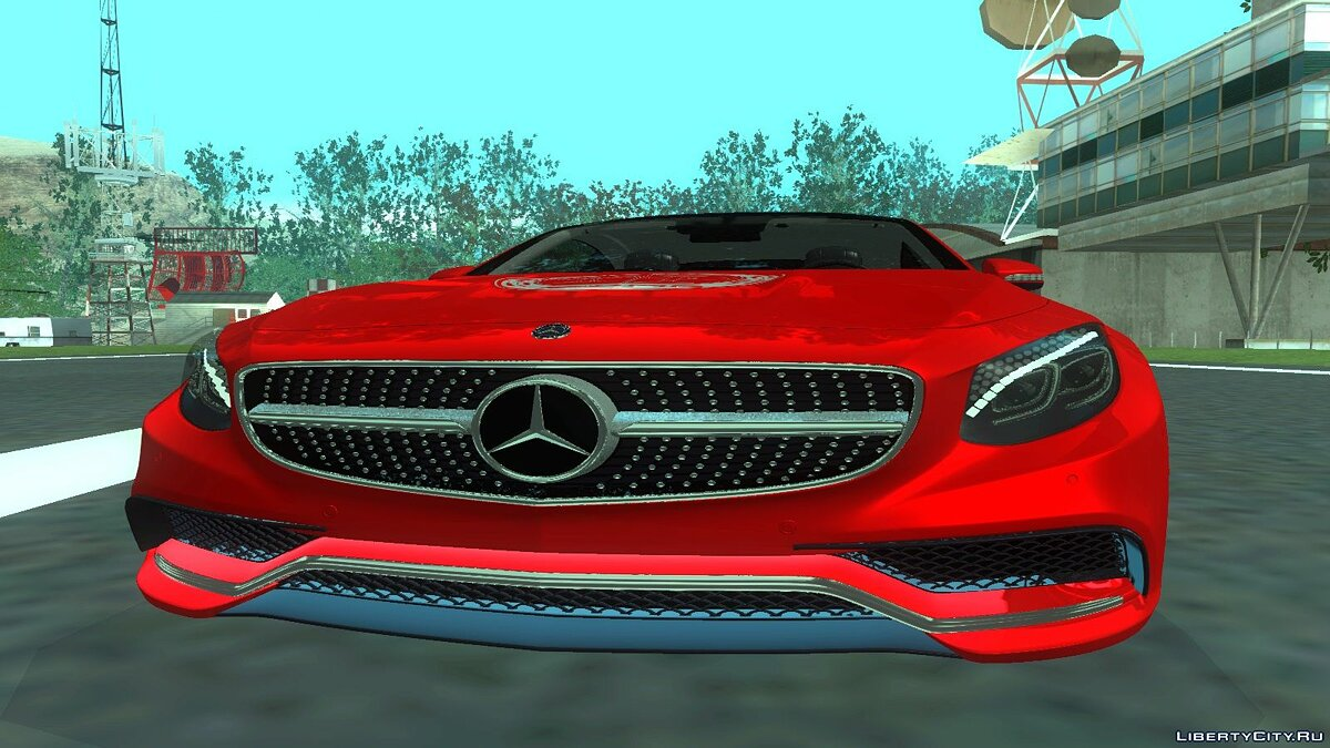 2015 Mercedes-Benz S63 AMG Coupe для GTA San Andreas - скриншот #3