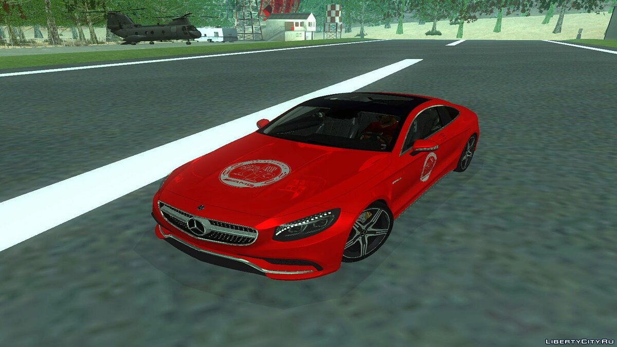 2015 Mercedes-Benz S63 AMG Coupe для GTA San Andreas - скриншот #4