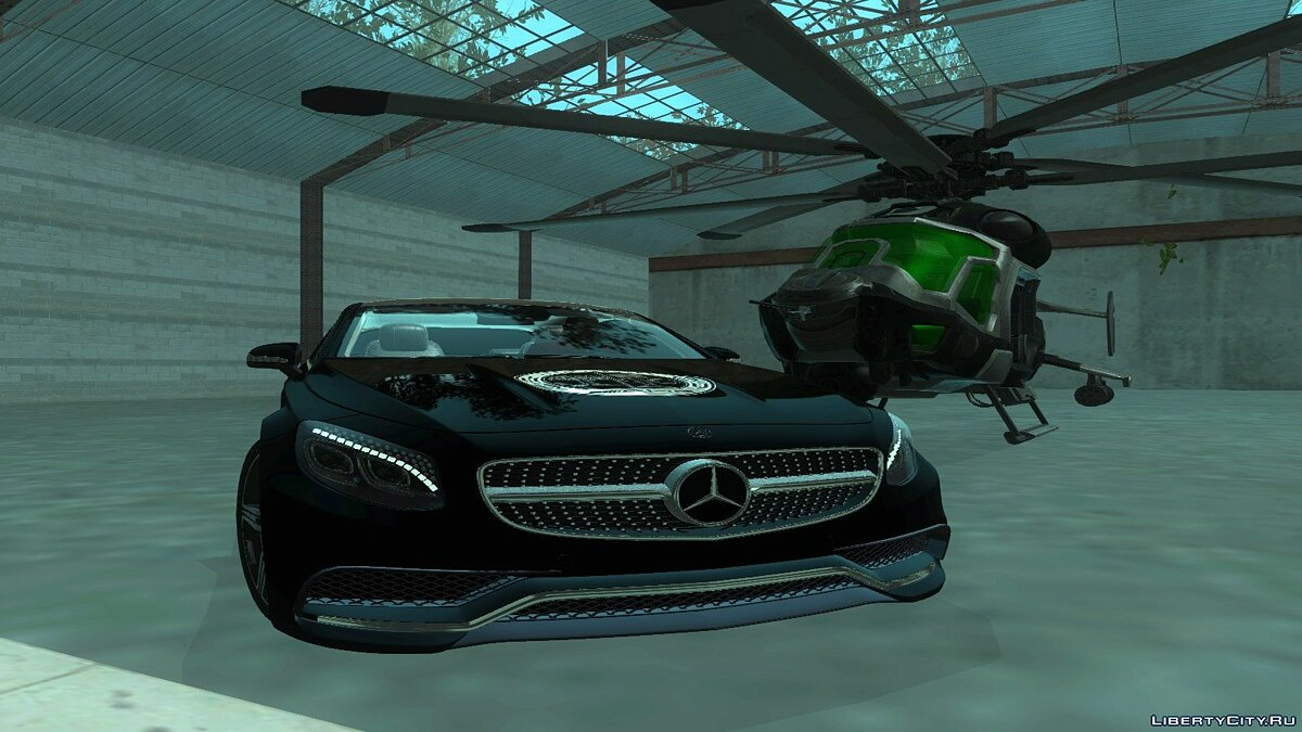 2015 Mercedes-Benz S63 AMG Coupe для GTA San Andreas - скриншот #7