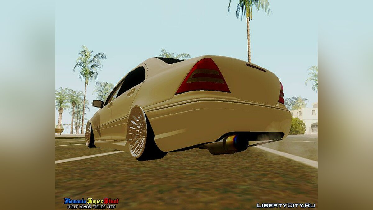 Mercedes-Benz C32 AMG Stanced для GTA San Andreas - скриншот #3