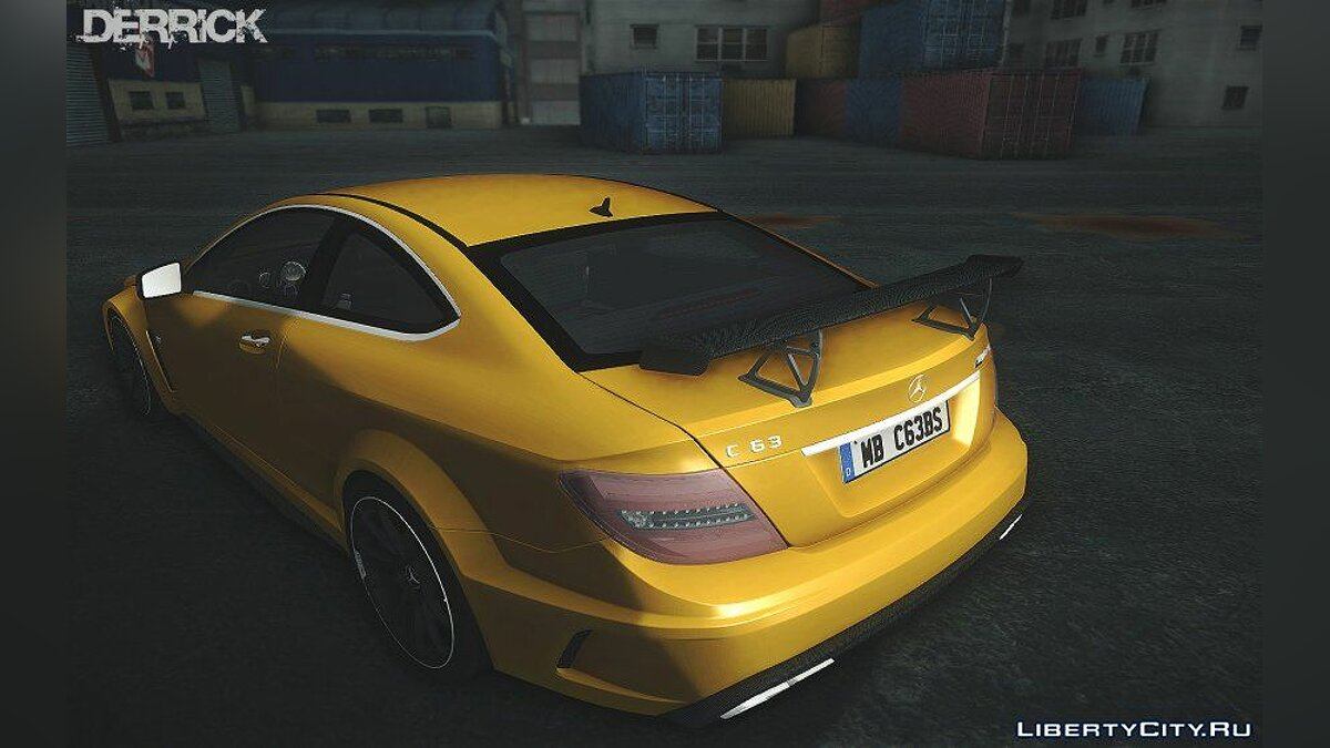2012 Mercedes-Benz C63 AMG Coupe Black Series для GTA San Andreas
