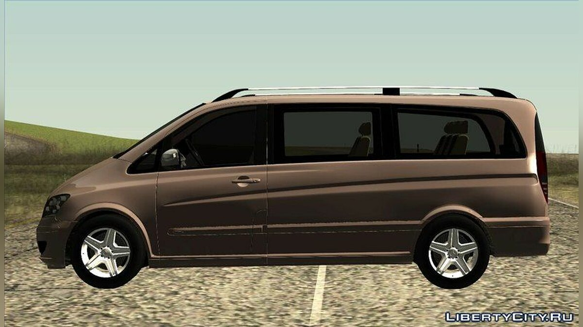 2010 Mercedes Benz Viano W639 Long Version для GTA San Andreas - скриншот #2