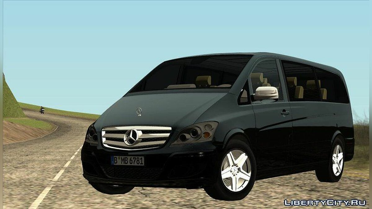 2010 Mercedes Benz Viano W639 Long Version для GTA San Andreas