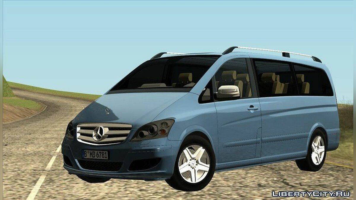 2010 Mercedes Benz Viano W639 Long Version для GTA San Andreas - скриншот #3