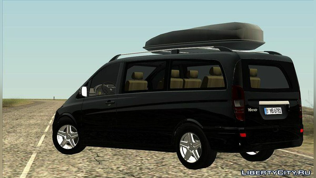 2010 Mercedes Benz Viano W639 Long Version для GTA San Andreas - скриншот #5