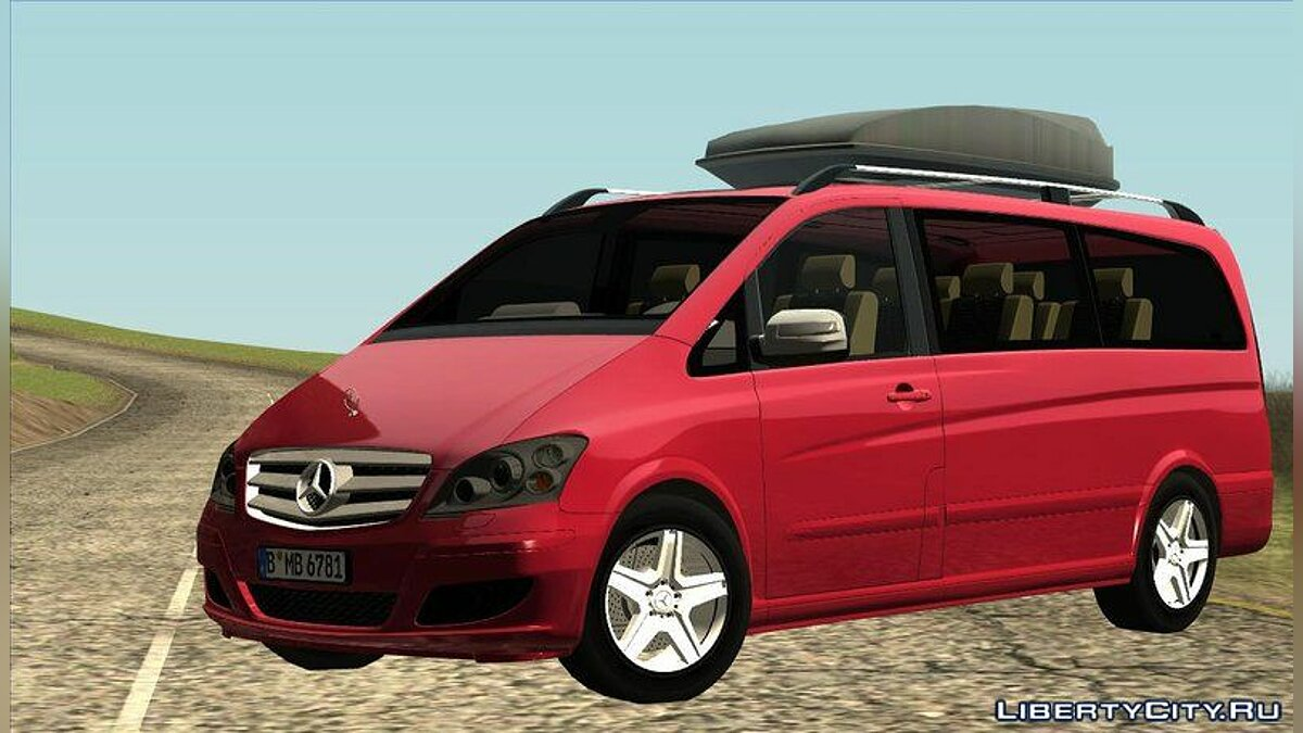 2010 Mercedes Benz Viano W639 Long Version для GTA San Andreas - скриншот #4