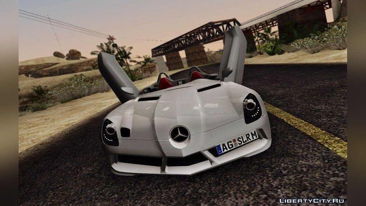 Mercedes-Benz SLR Stirling Moss для GTA San Andreas