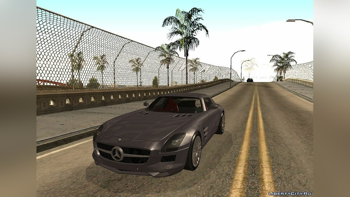 "Mercedes-Benz SLS (AMG) V12 ""TT Black Revel"" для GTA San Andreas"