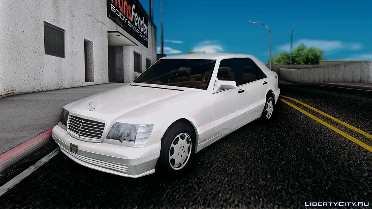 Mercedes-Benz S600 V12 Custom для GTA San Andreas