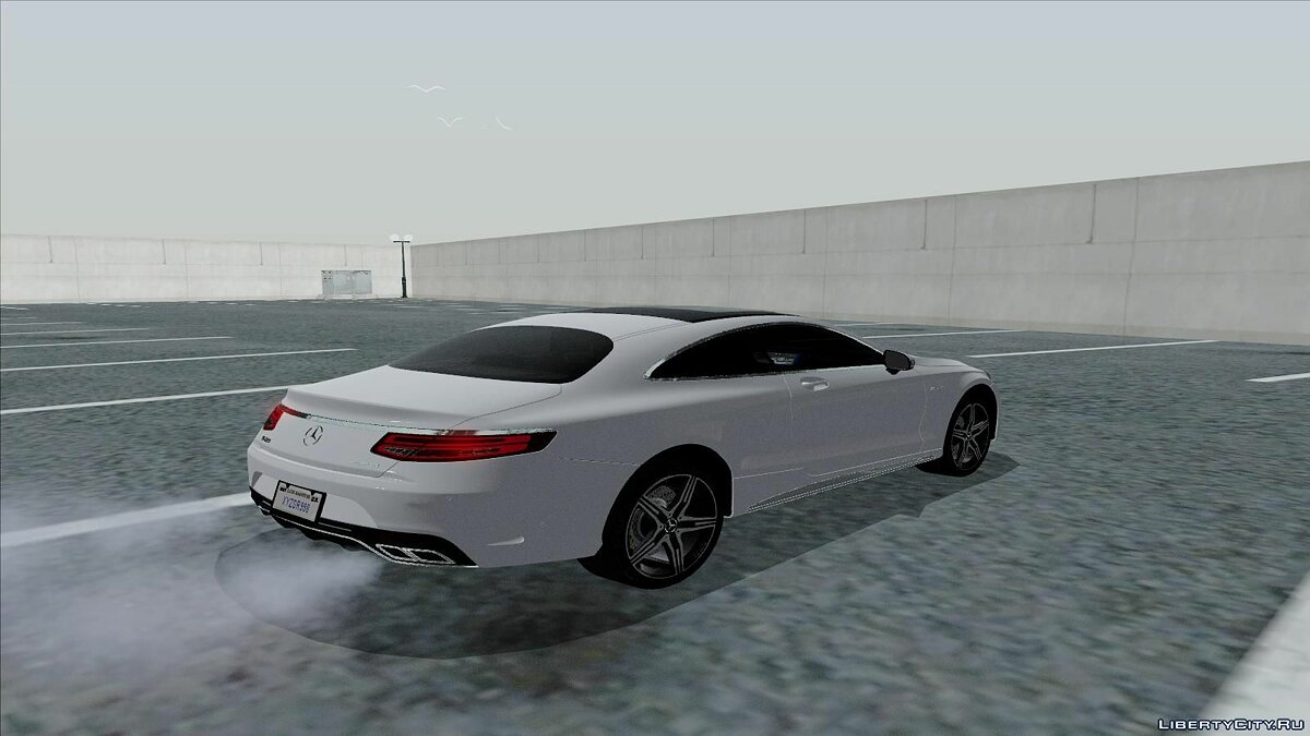 Mercedes-Benz S63 AMG Coupe для GTA San Andreas - скриншот #2
