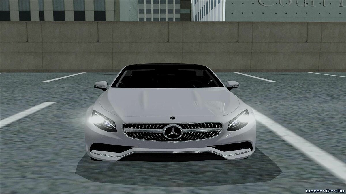 Mercedes-Benz S63 AMG Coupe для GTA San Andreas - скриншот #3