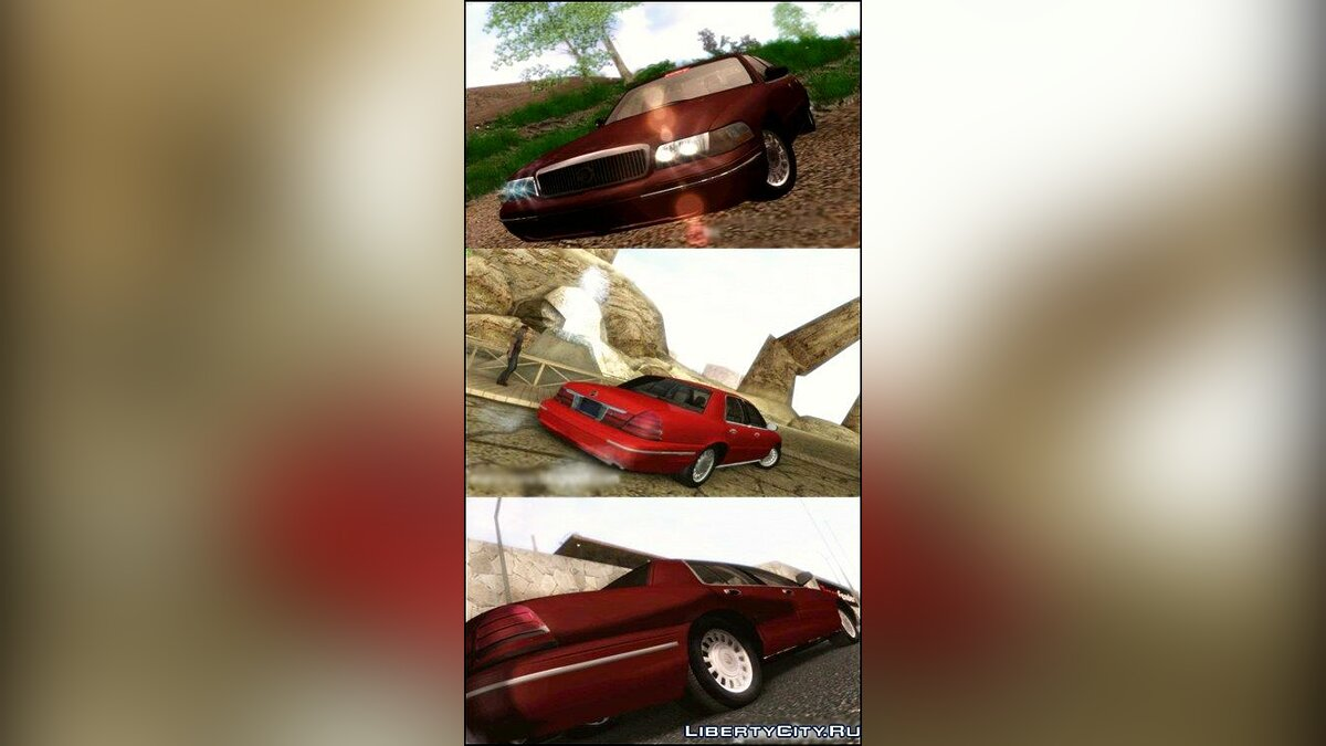 Mercury Grand Marquis для GTA San Andreas