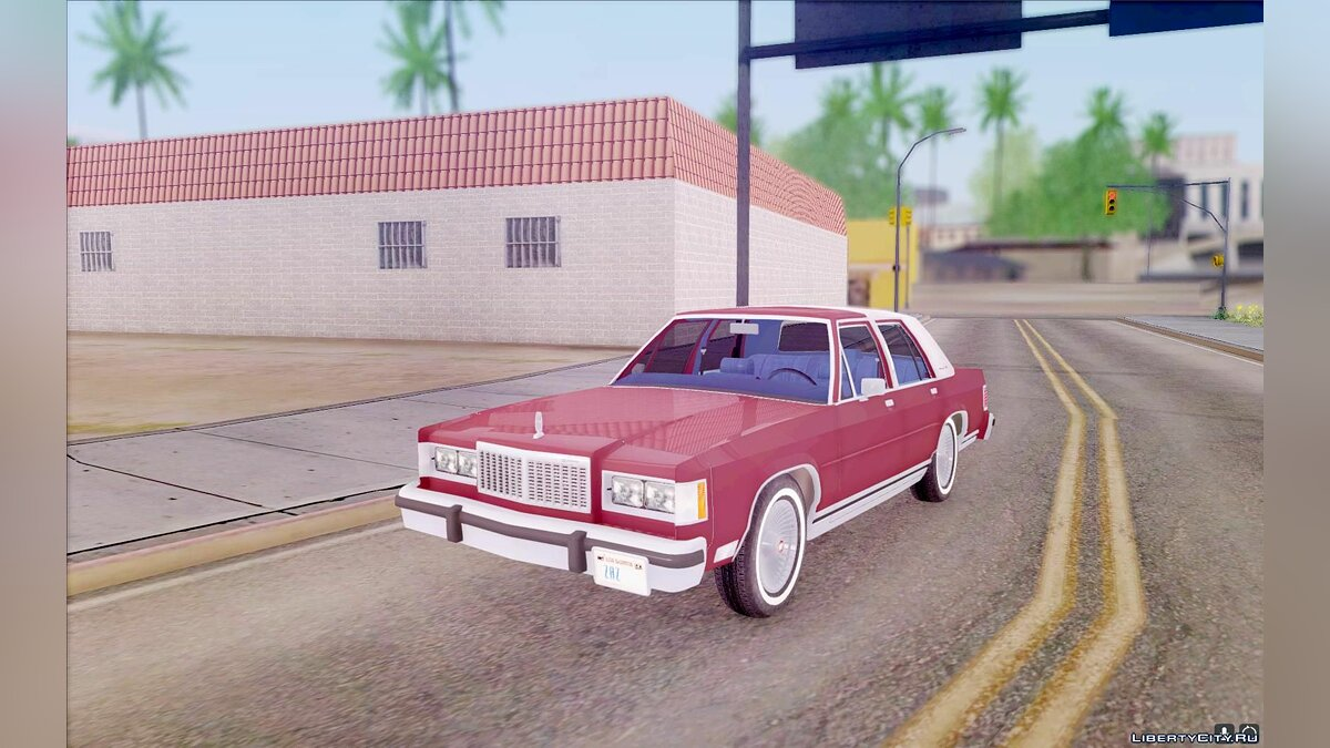 Mercury Grand Marquise 1986 для GTA San Andreas