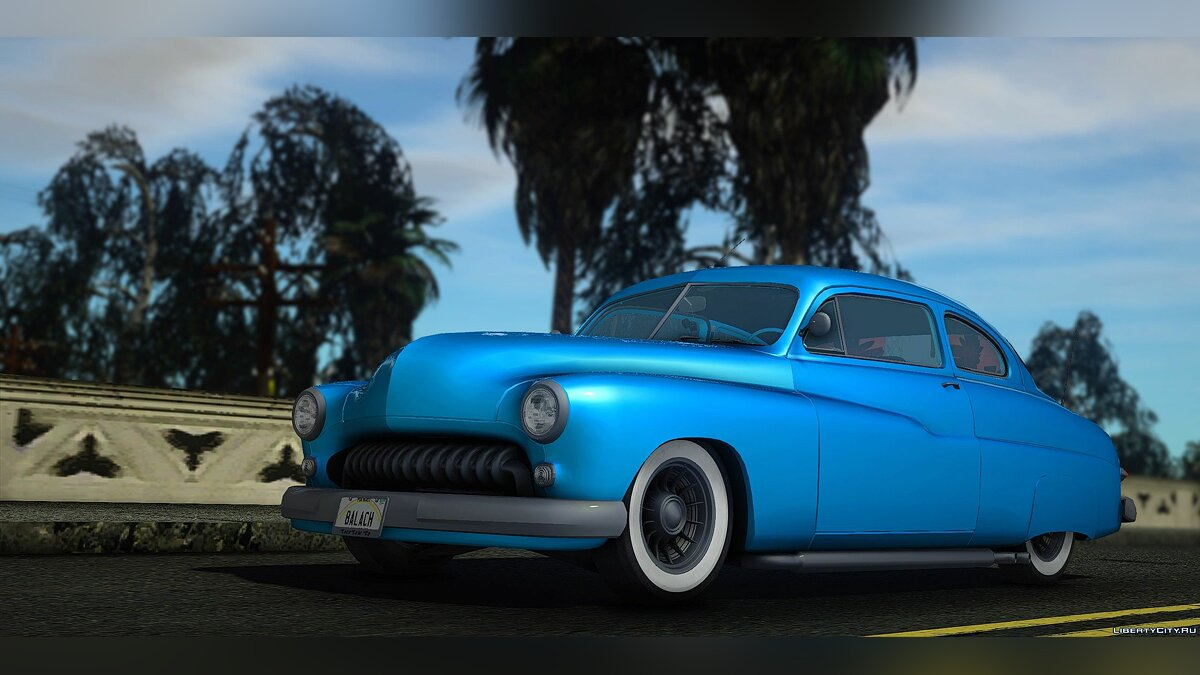 Машина Mercury Mercury Eight Custom (9CM-72) 1949 1.01 для GTA San Andreas