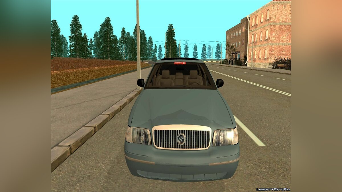 Машина Mercury Mercury Grand Marquis 2006 для GTA San Andreas