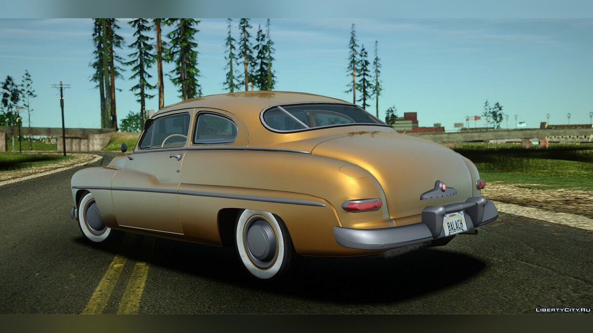Машина Mercury Mercury Eight Coupe (9CM-72) 1949 для GTA San Andreas