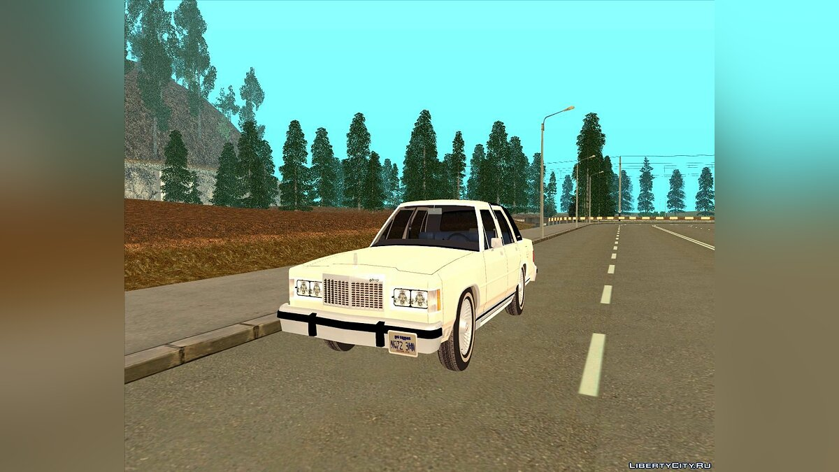 Mercury Grand Marquis LS '86 для GTA San Andreas
