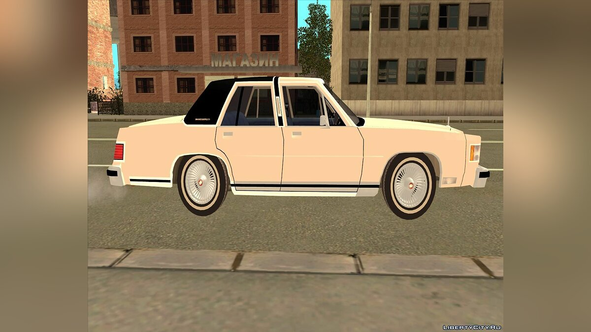 Mercury Grand Marquis LS '86 для GTA San Andreas - скриншот #3