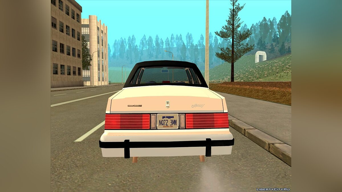 Mercury Grand Marquis LS '86 для GTA San Andreas - скриншот #5