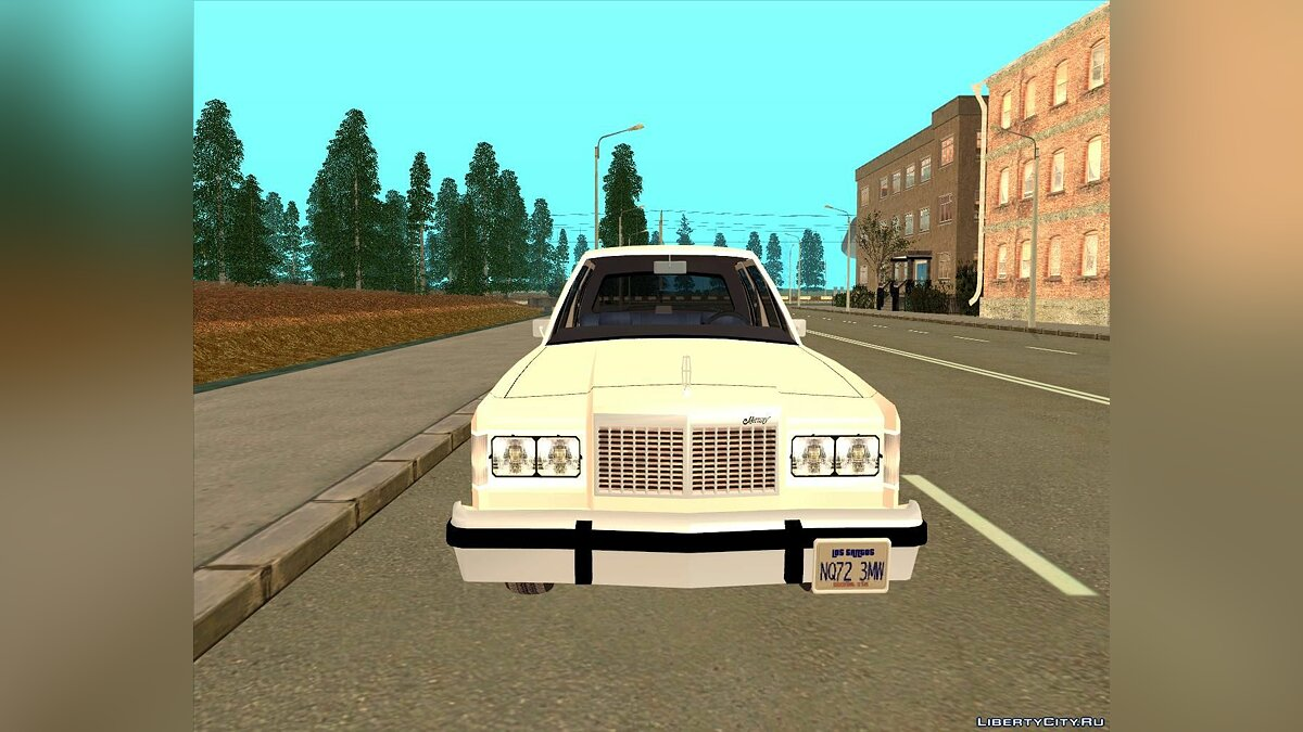 Mercury Grand Marquis LS '86 для GTA San Andreas - скриншот #7