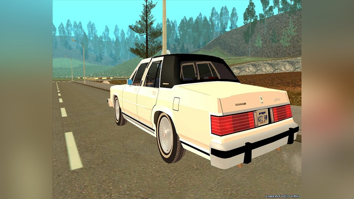 Mercury Grand Marquis LS '86 для GTA San Andreas - скриншот #6