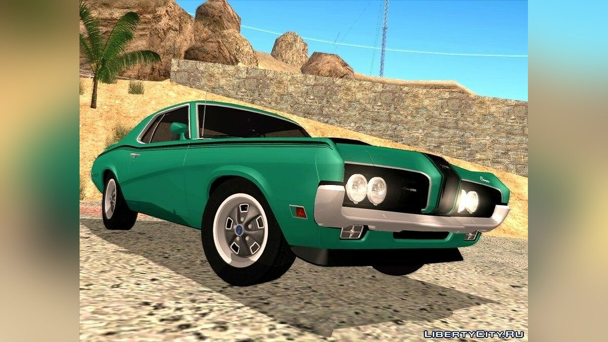 1970 Mercury Cougar Eliminator для GTA San Andreas - скриншот #2