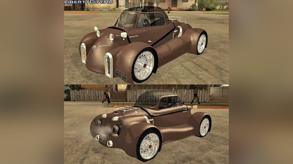 ��ашина Messerschmitt Messerschmitt GT500 Tiger Hard tuned для GTA San Andreas
