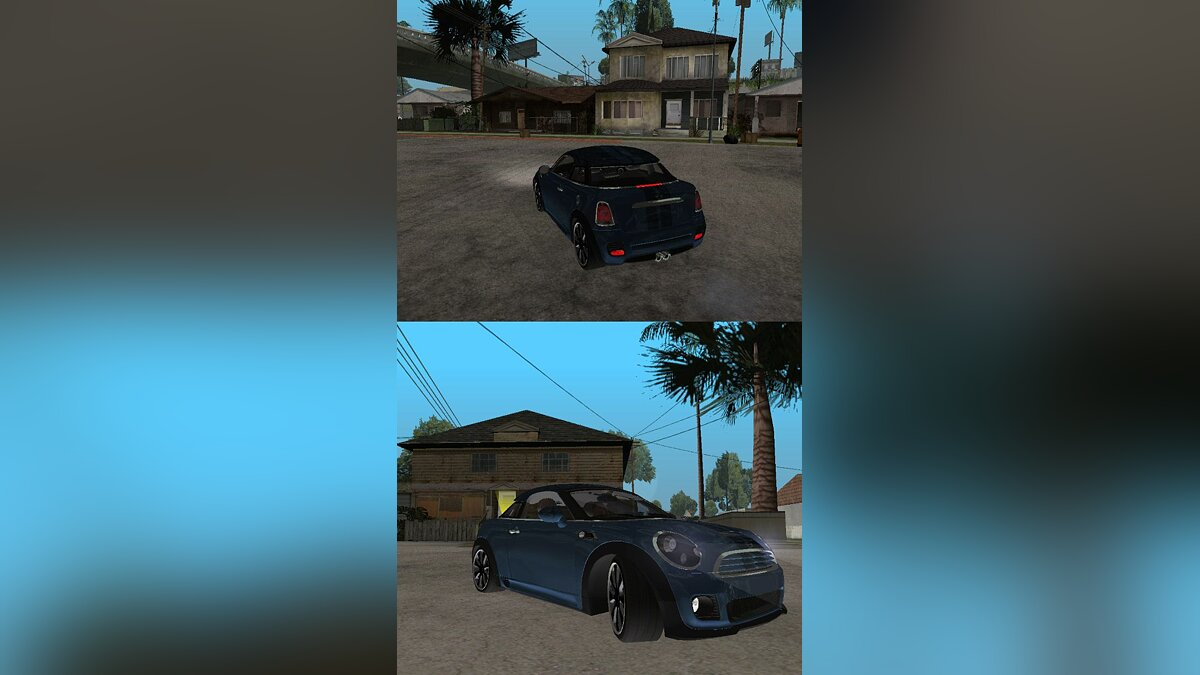 2010 Mini Coupe Concept для GTA San Andreas