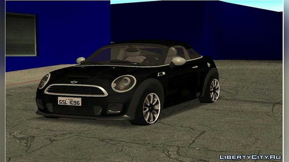 Машина Mini 2010 Mini Coupe Concept для GTA San Andreas