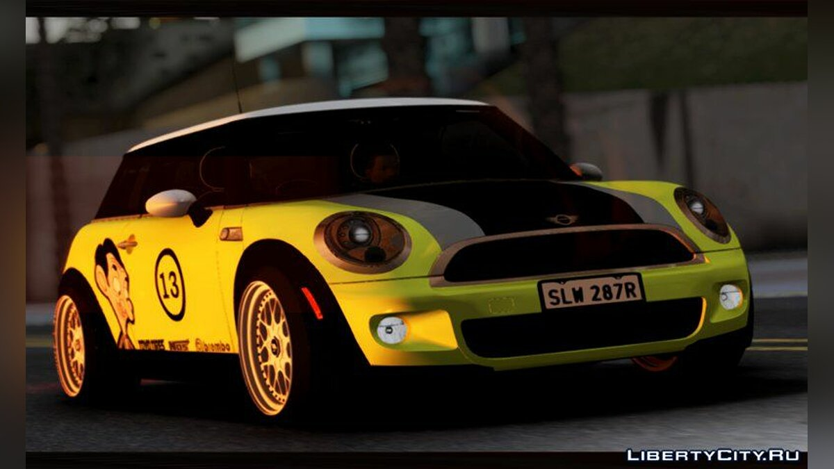 Машина Mini Mini John Cooper Works Mr.Bean для GTA San Andreas