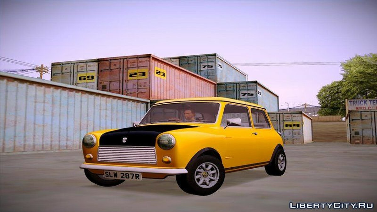 Машина Mini 1977 British Leyland Mini 1000 для GTA San Andreas
