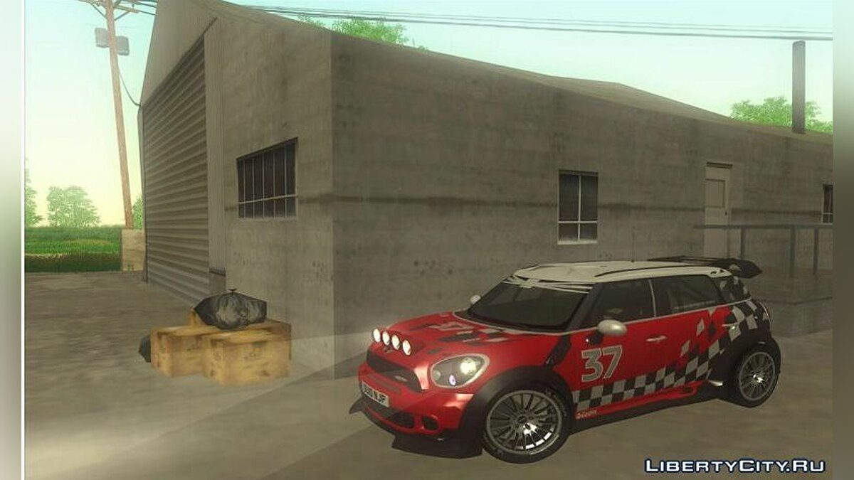 Машина Mini Mini Countryman WRC для GTA San Andreas