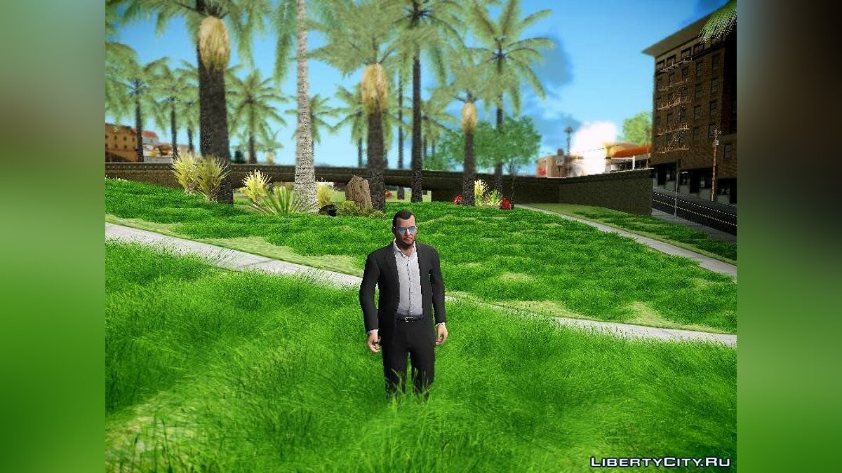 Super Realistic Grass для GTA San Andreas - скриншот #3