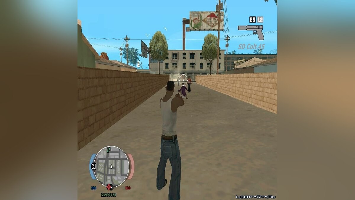 State of Decay hud для GTA SA для GTA San Andreas