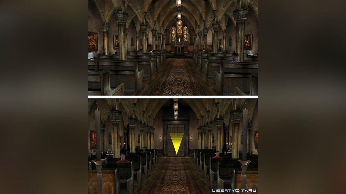 ��од San Fierro Cathedral для GTA San Andreas
