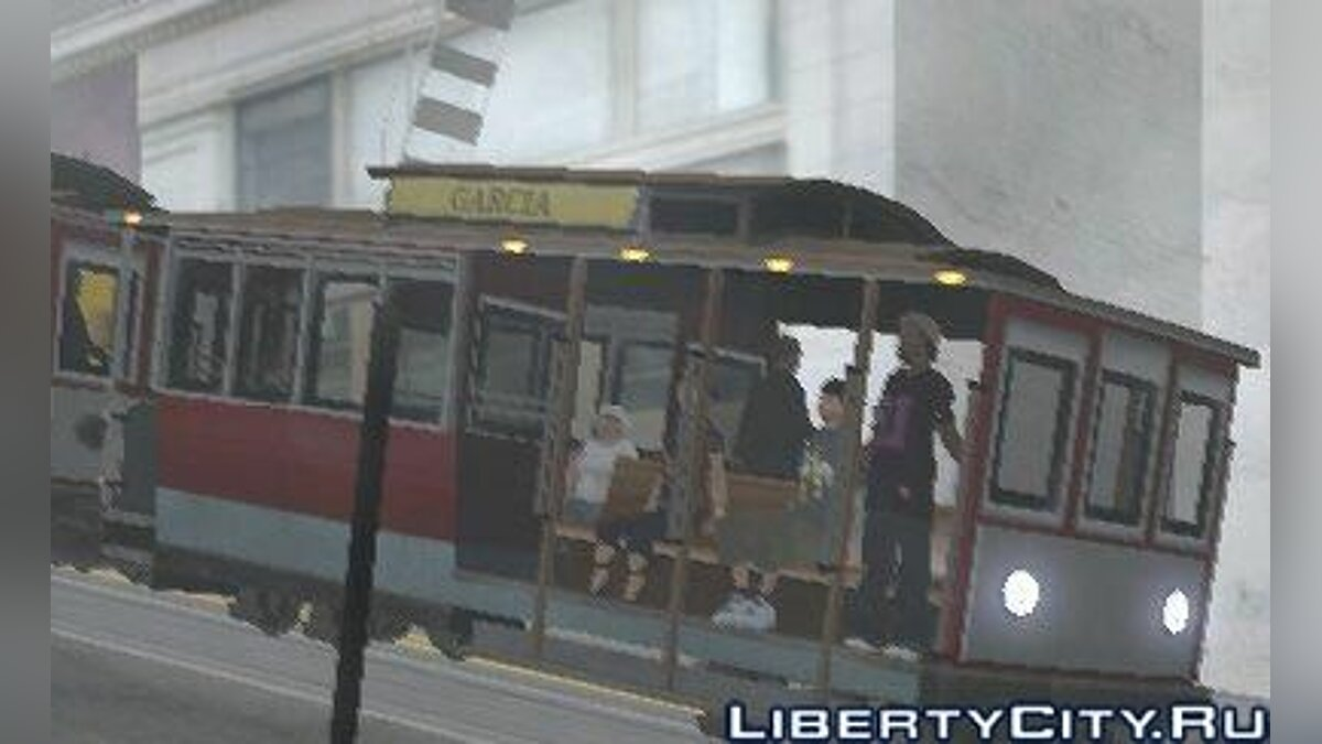 Мод Enterable Tram final для GTA San Andreas