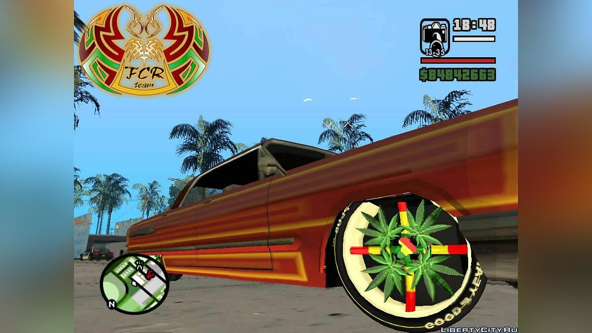 TUNING BOX WHEELS для GTA San Andreas