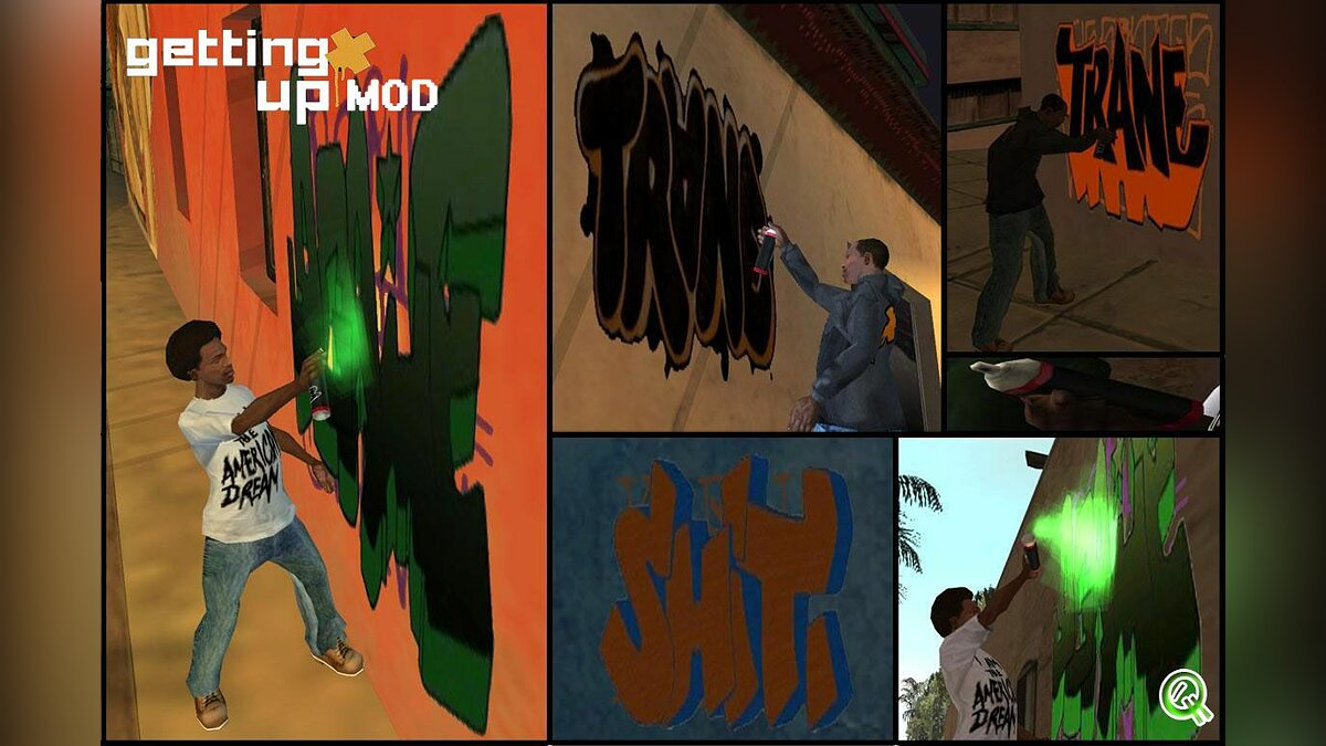 Getting up mod для GTA San Andreas