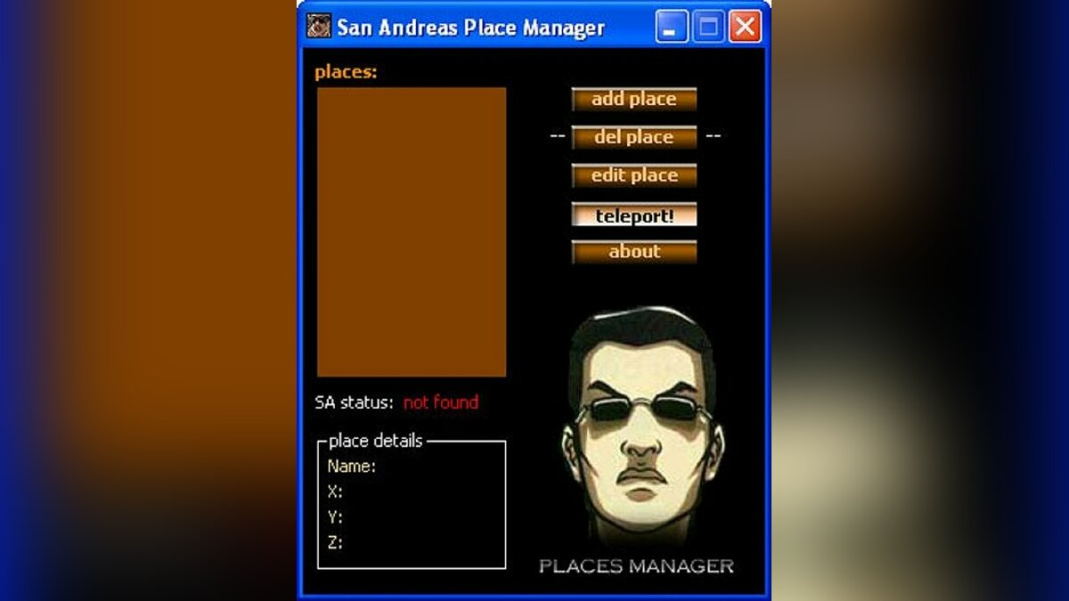 Place Manager для GTA San Andreas