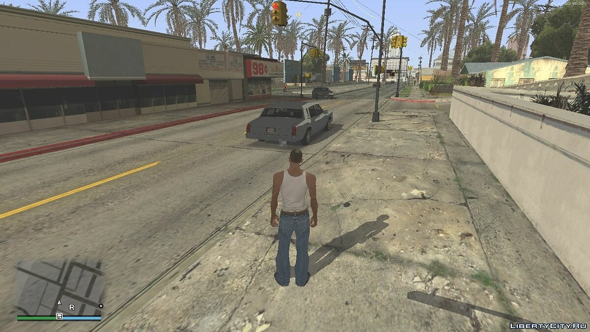 Ped Spec Illumination для GTA San Andreas