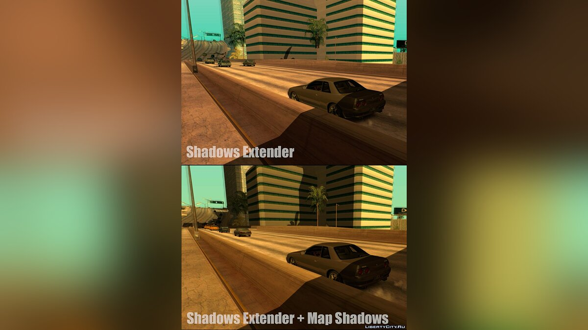 INSANITY Map Shadows Beta 1.1 Test для GTA San Andreas - скриншот #4