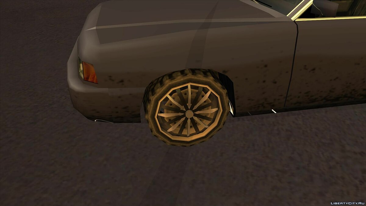 Wheels from NFS Underground 2 SA Style для GTA San Andreas - скриншот #5