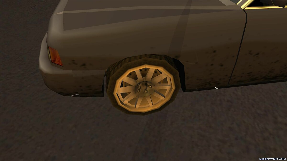 Wheels from NFS Underground 2 SA Style для GTA San Andreas - скриншот #4