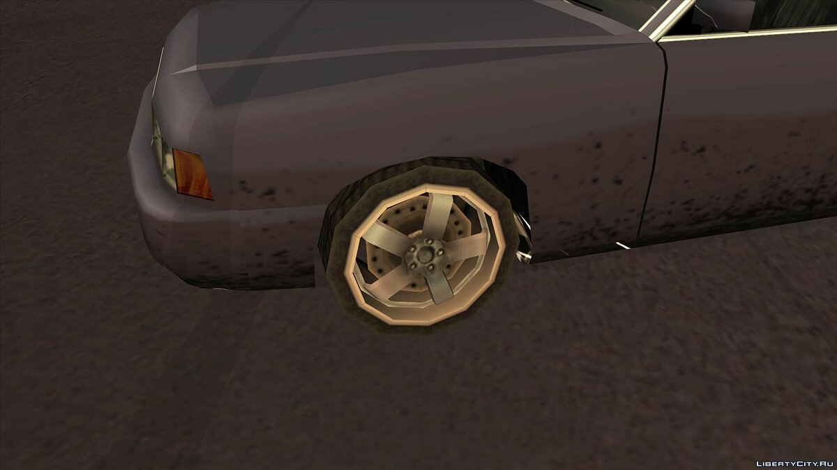 Wheels from NFS Underground 2 SA Style для GTA San Andreas - скриншот #2