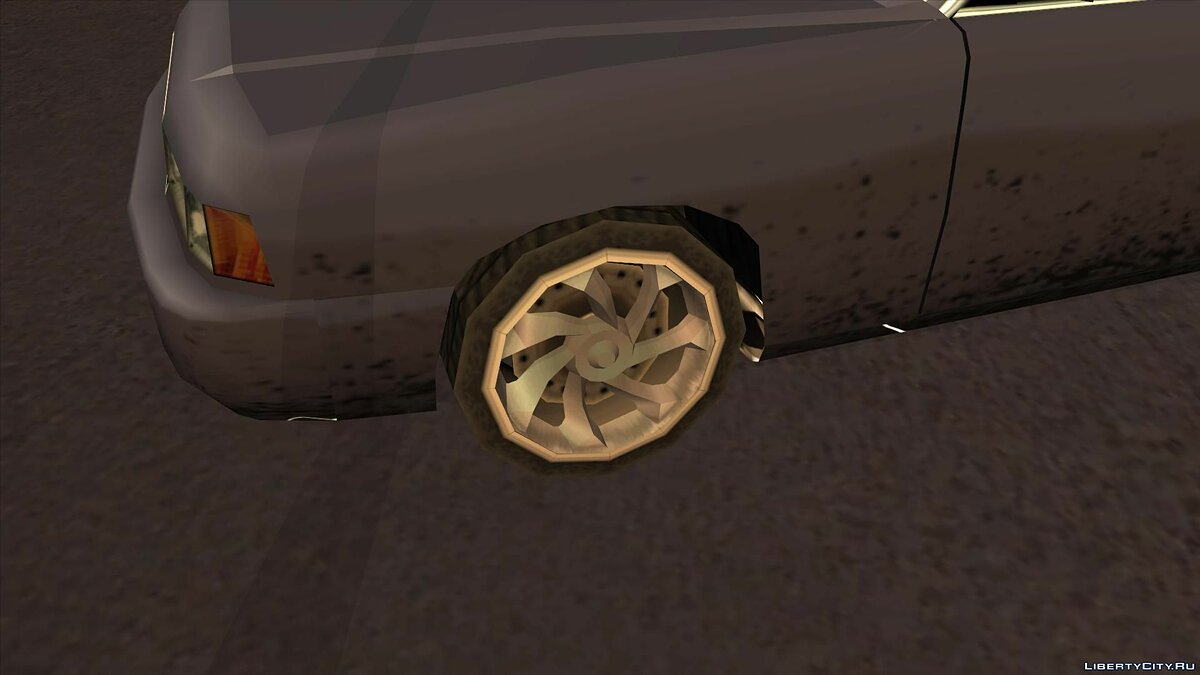 Wheels from NFS Underground 2 SA Style для GTA San Andreas - скриншот #8