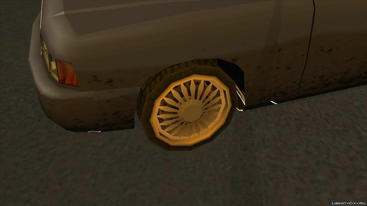 Wheels from NFS Underground 2 SA Style для GTA San Andreas - скриншот #7