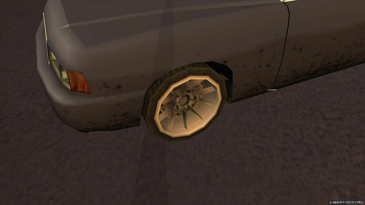 Wheels from NFS Underground 2 SA Style для GTA San Andreas - скриншот #14